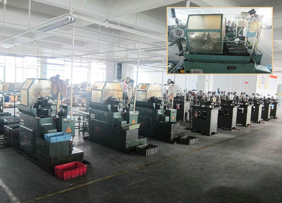 Equipo de la fábrica de joyas