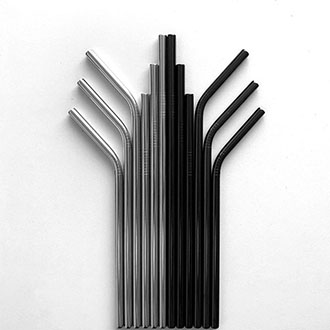 Fabrica de Pajitas de Metal Pajitas Acero Inoxidable China