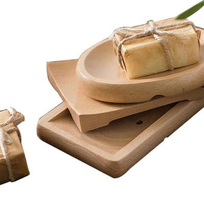 Jabonera de bambú al por mayor