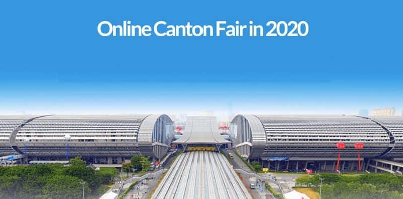La Feria de Cantón en línea en 2020