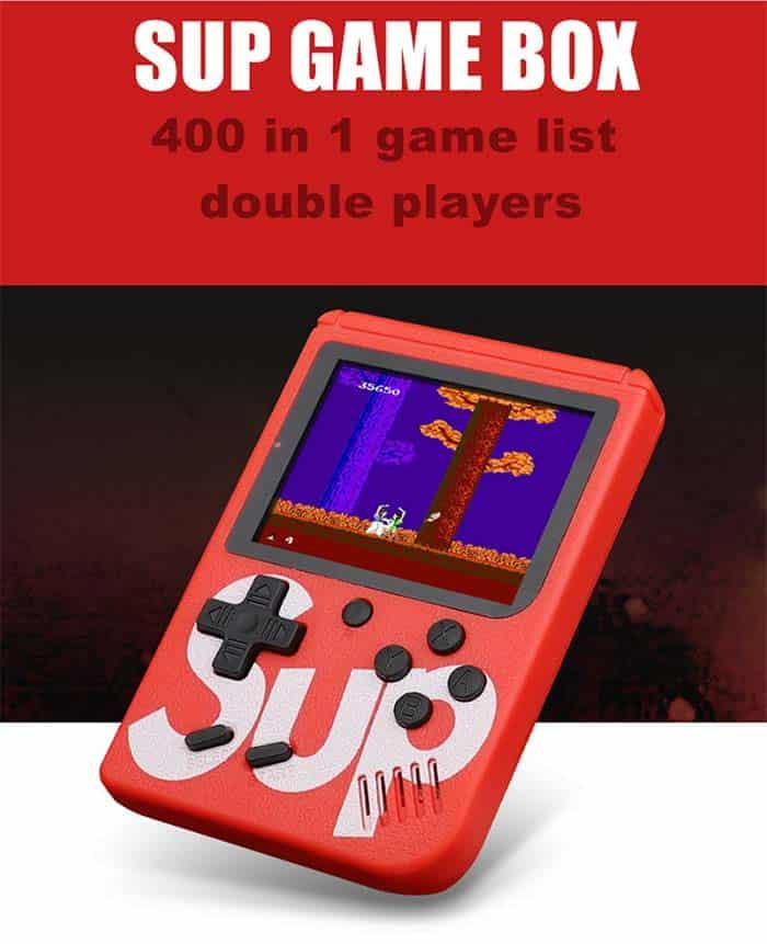 fabrica de consola retro 400 juegos